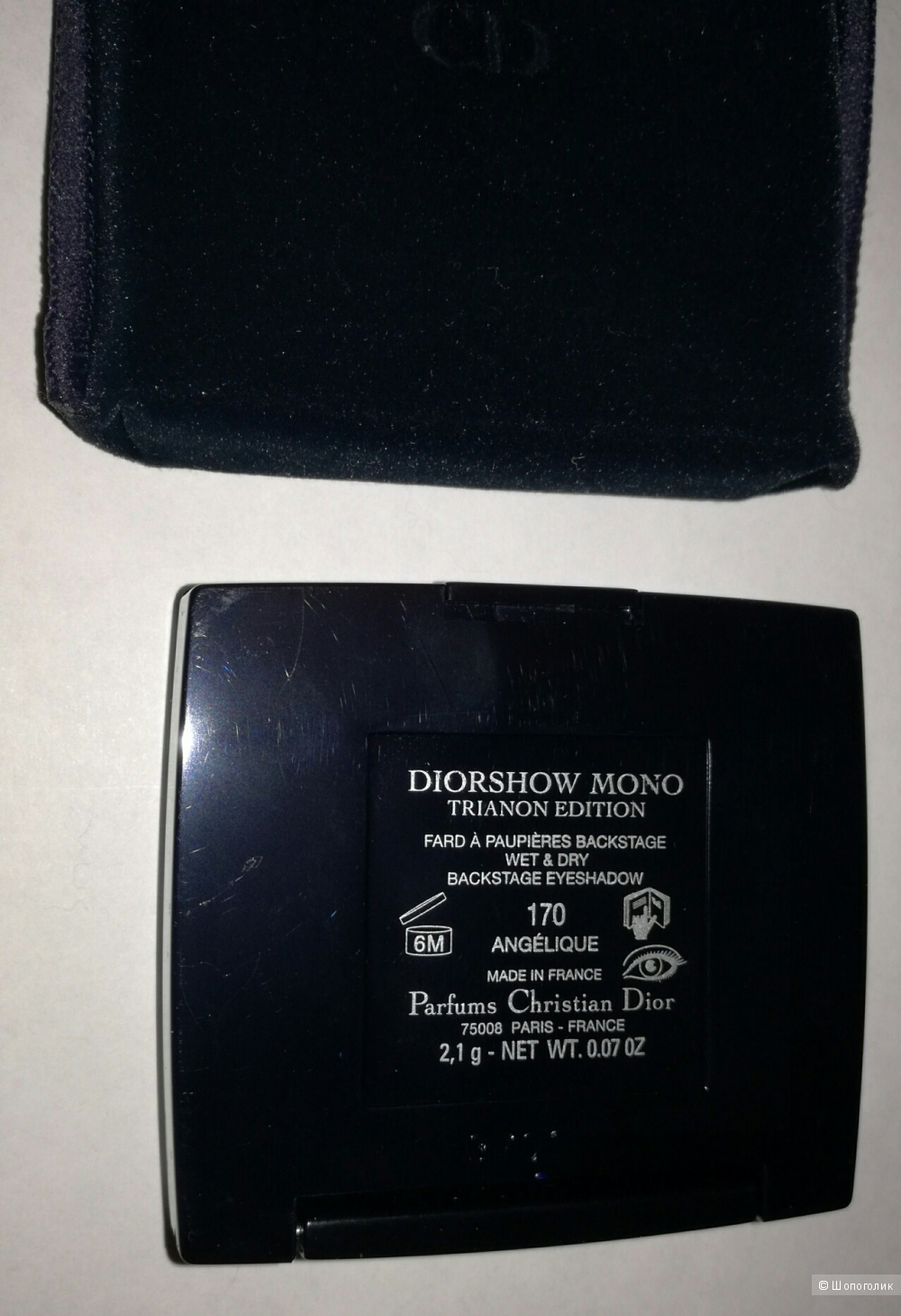 Diorshow mono trianon edition тени для век тон 170