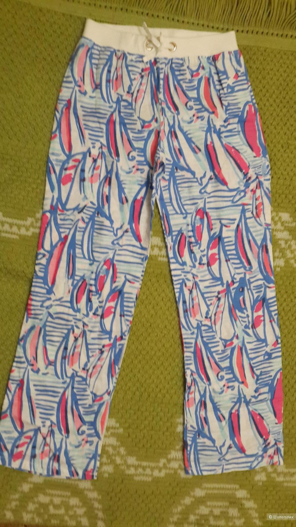 Льняные брюки Lilly Pulitzer, XS