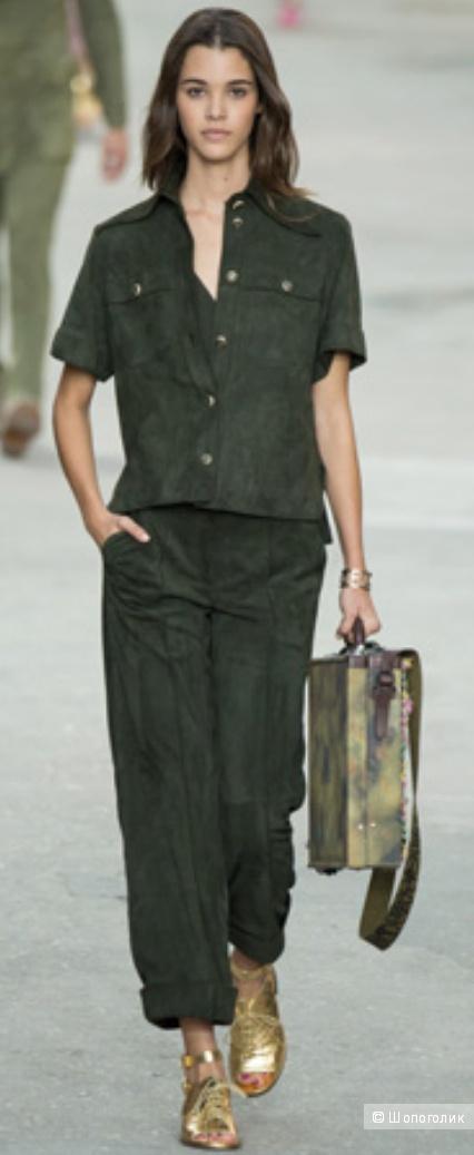 Lauren Ralph Lauren: пиджак-жакет в стиле милитари, М