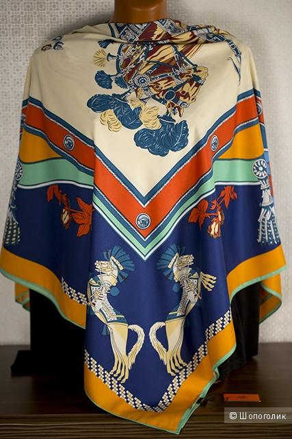 Платок Hermes (Эрмес), размер 140*140 см