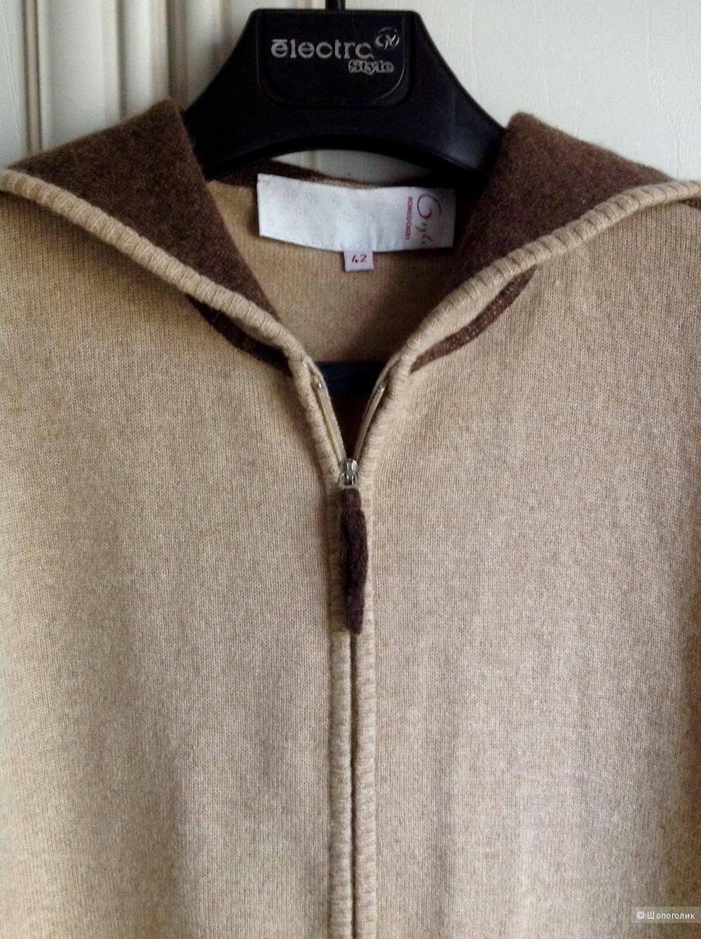 Кофта кашемир-шерсть Romeo Gigli, размер 42-44.