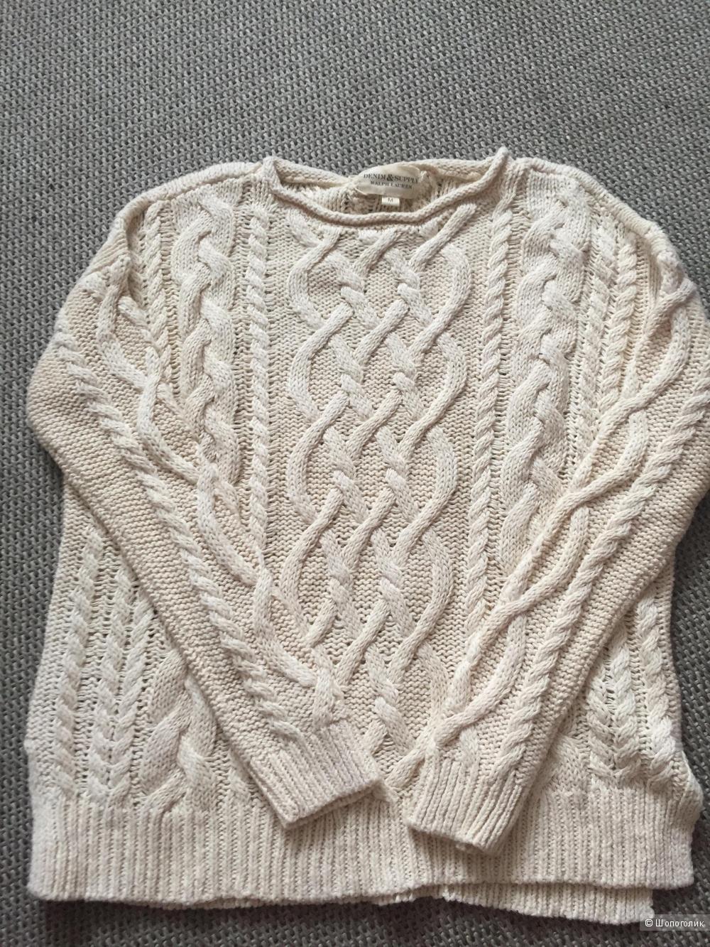 Новый свитер Ralph Lauren denim&supply M