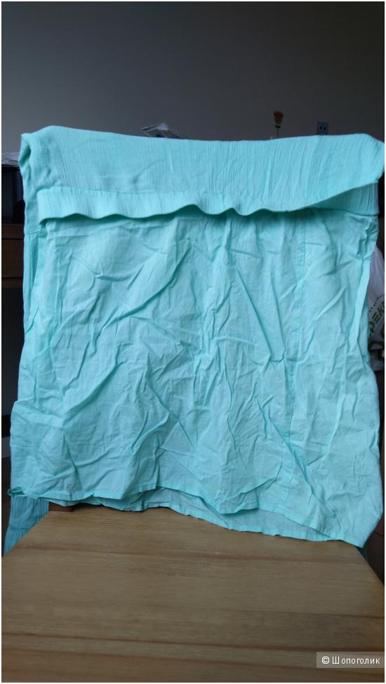 Бирюзовая юбка Victorias Secret 100% хлопок Б/у в идеале