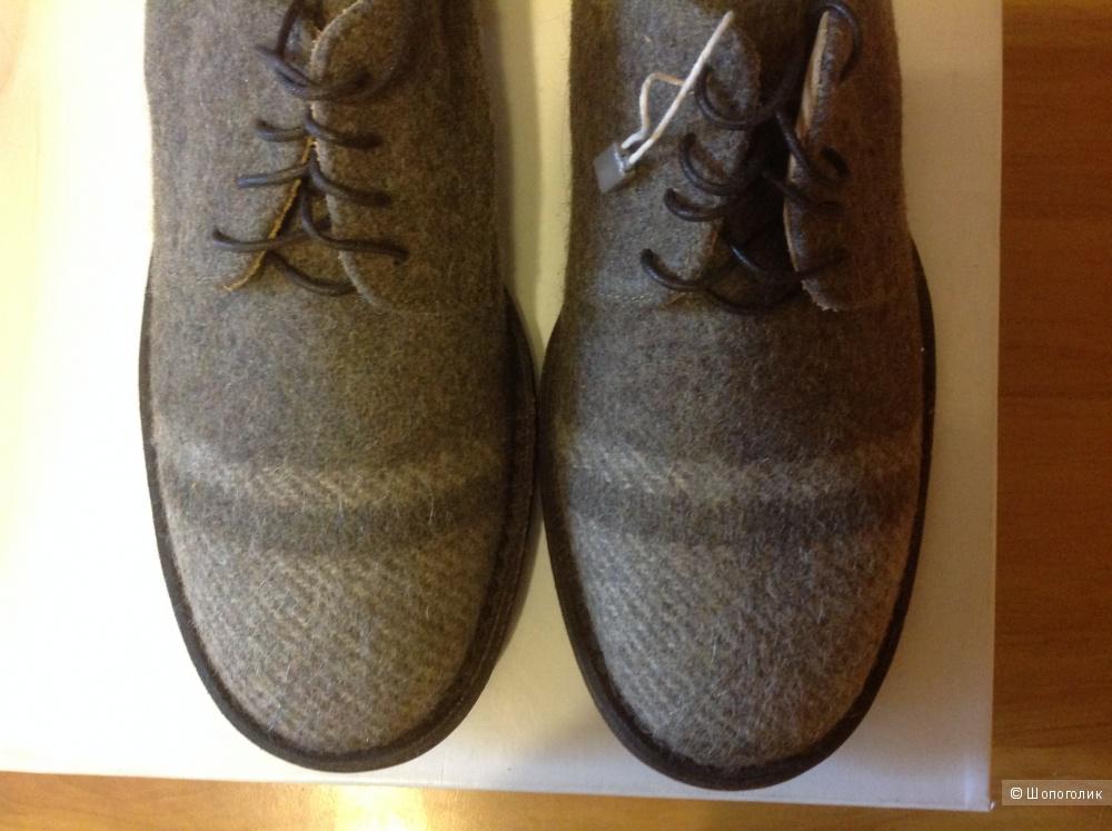 Ботинки женские из валеной шерсти  01000010 by BOCCACCINI 38 р