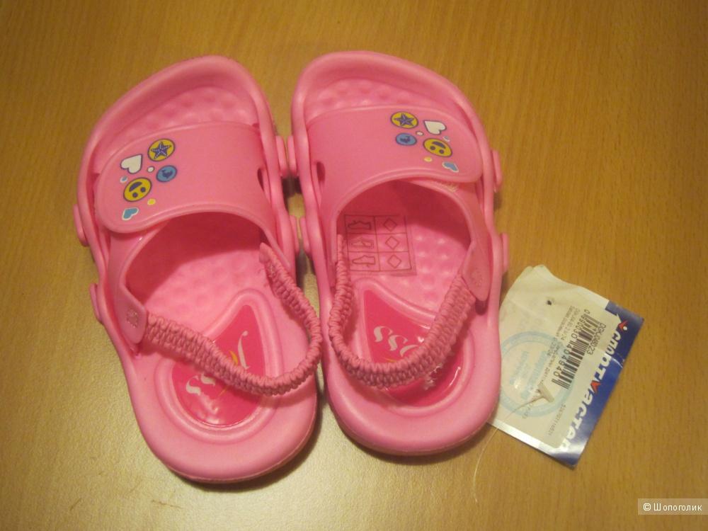 Новые детские сандалии Bimbo Kids' Sandals, размер 23-24