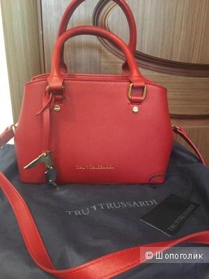 Кожаная сумка TruTrussardi