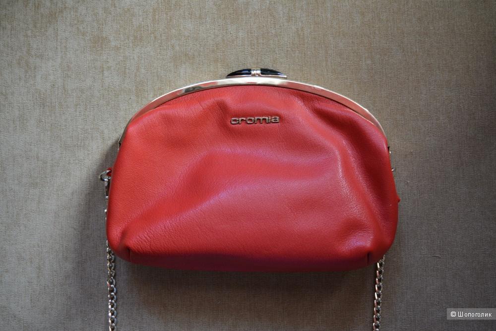 Алая сумка-кроссбоди Cromia