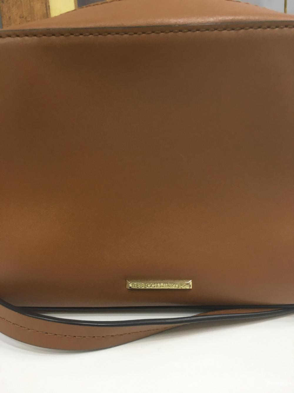 Кожаная мини сумка Rebecca Minkoff