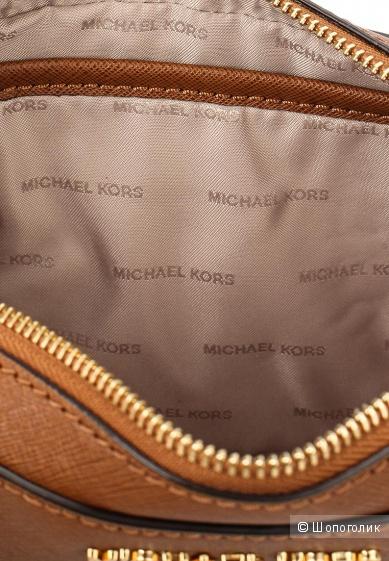 Сумка Michael Michael Kors jet set travel коричневая