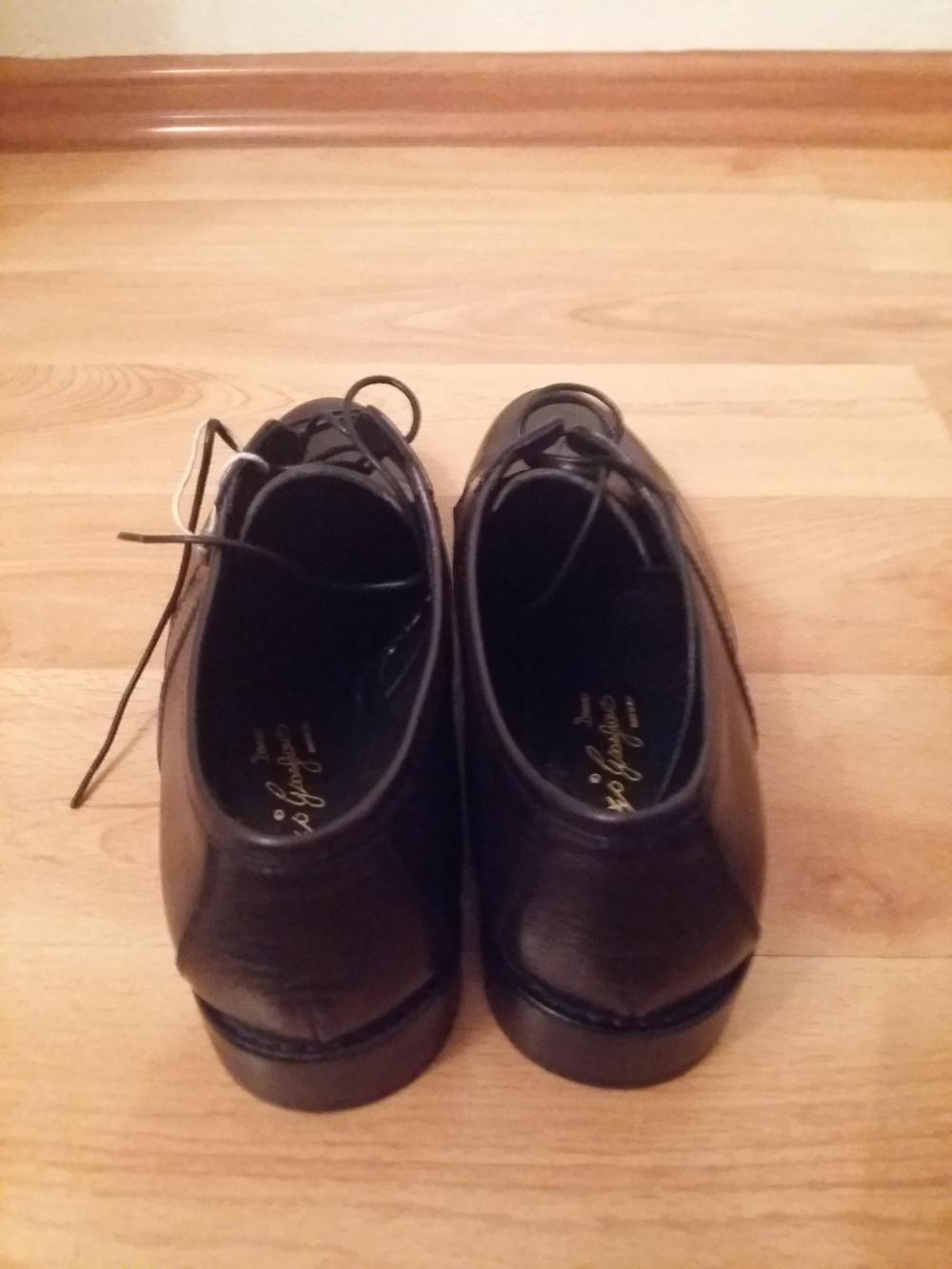 Туфли женские черные ,Италия , бренд Gianfranco Lattanzi Donna размер 36.