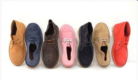 Замшевые ботинки, размер 40!