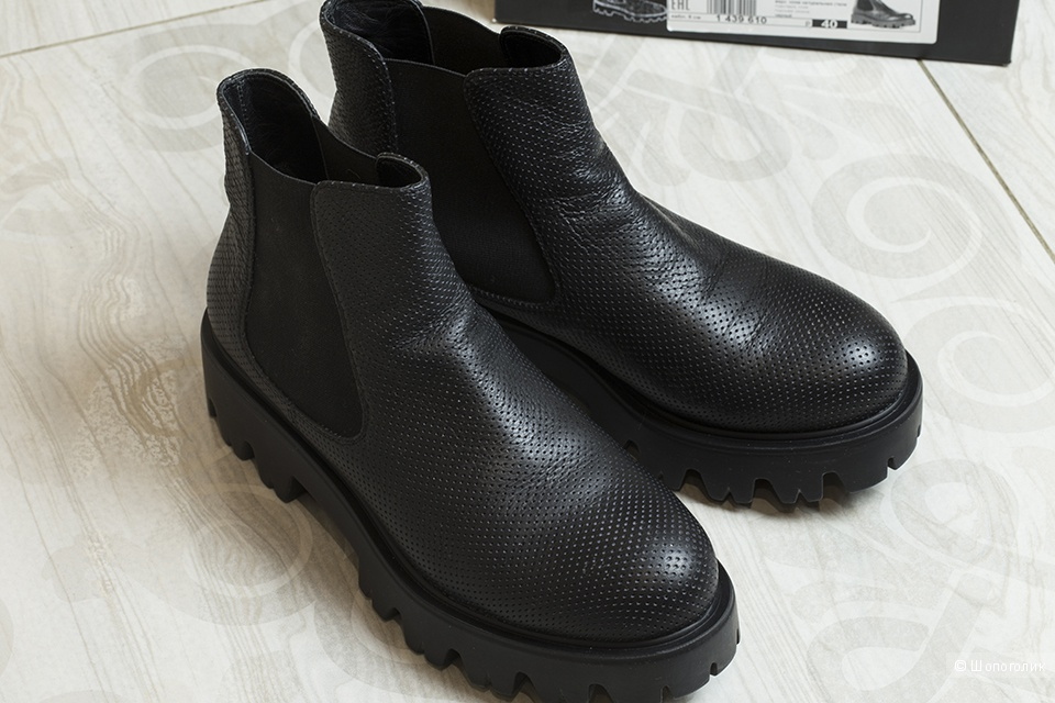 Ботинки/полусапоги Loriblu(Лориблу), размер 40.