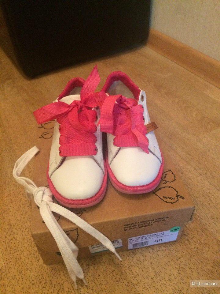 Низкие кроссовки, кеды для девочки Panchic, размер 30