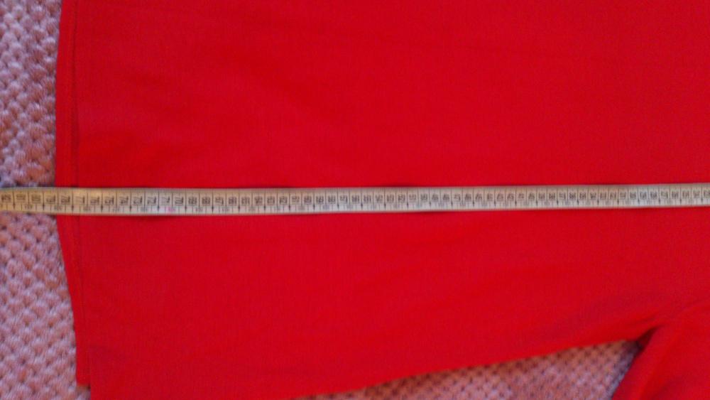 Кофта = туника красная, размер 50-54, Турция