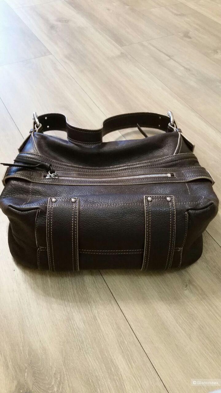 Кожаная сумка,  tosca BLU, Италия.