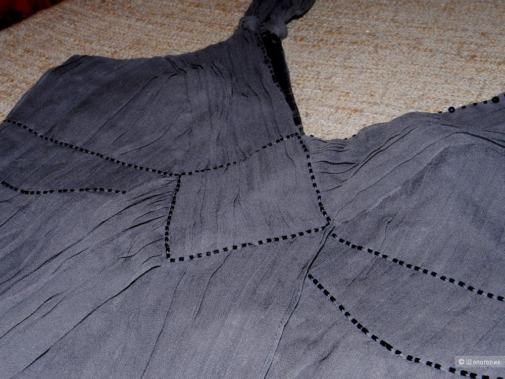 Топ Oasis натуральный шелк 14 размер