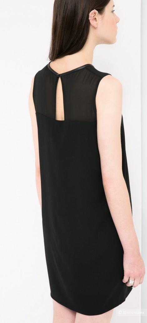 Маленькое чёрное платье Mango размер S