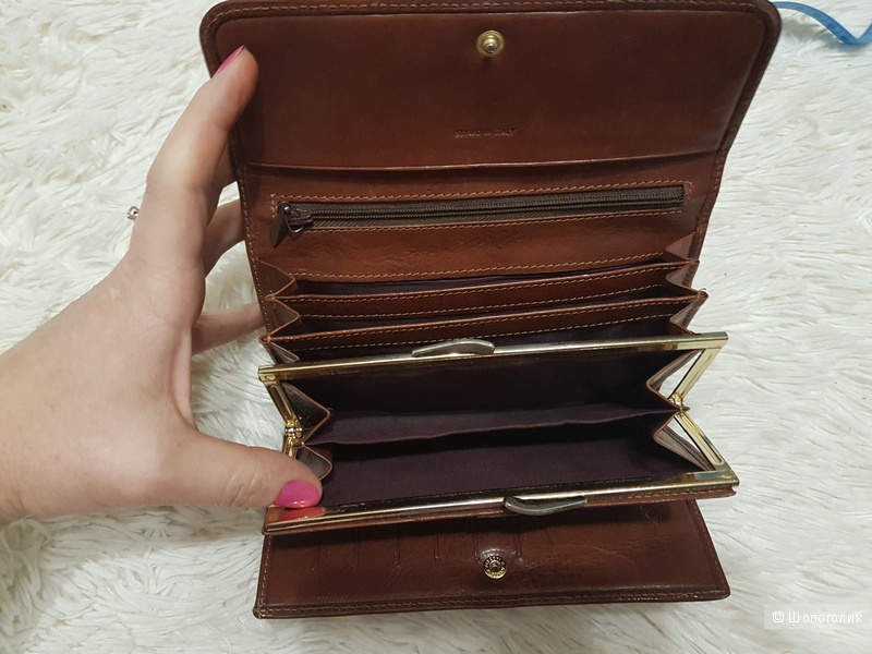 Кошелёк кожаный Sbarazza бренда  Firenze (Italy)