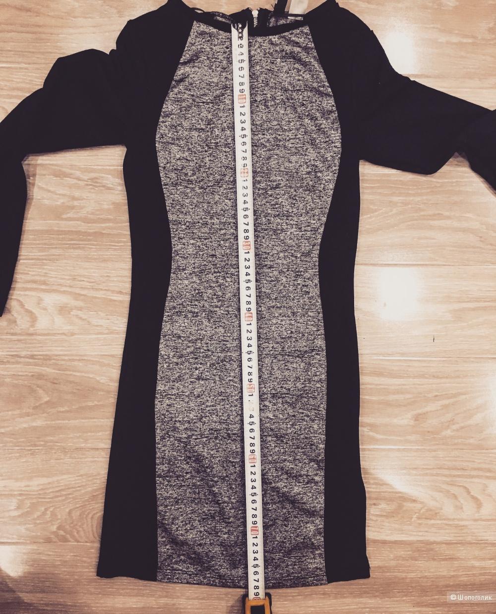 Облегающее платье H&M размер 42