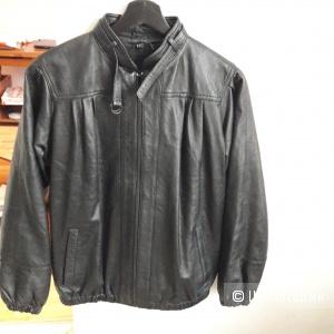 Новая кожаная куртка 46-48 размера