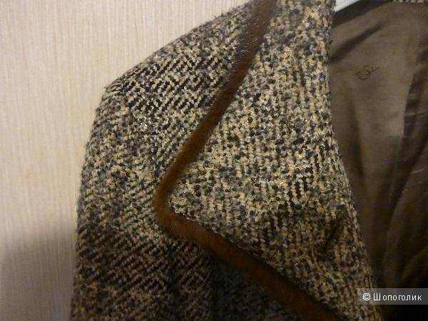 "Пальто с норкой ""Alessandro Manzoni"", 50р-р"