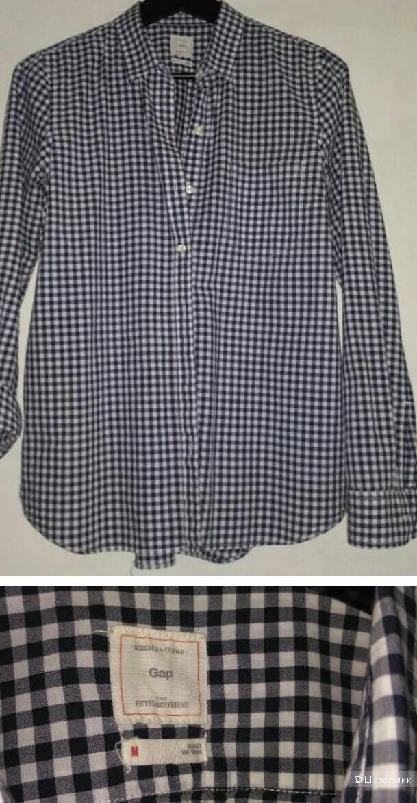 Gap: рубашка- бойфренд, М