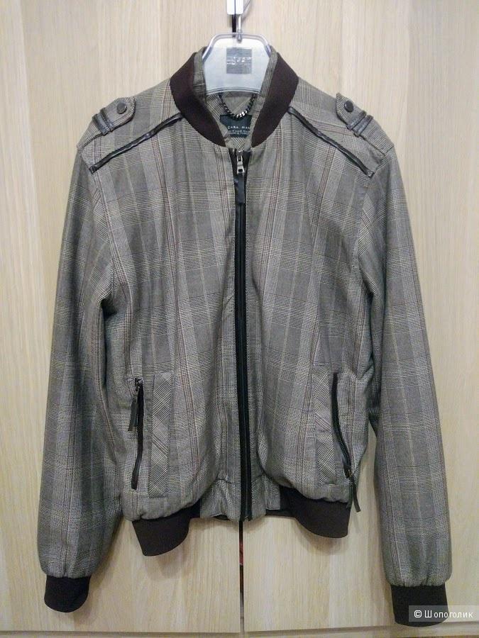 7086ab23460 Мужская куртка-бомбер Zara