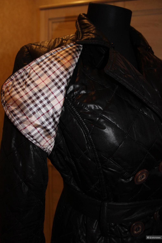 Пальто стеганное на синтепоне BURBERRY, реплика, размер 44