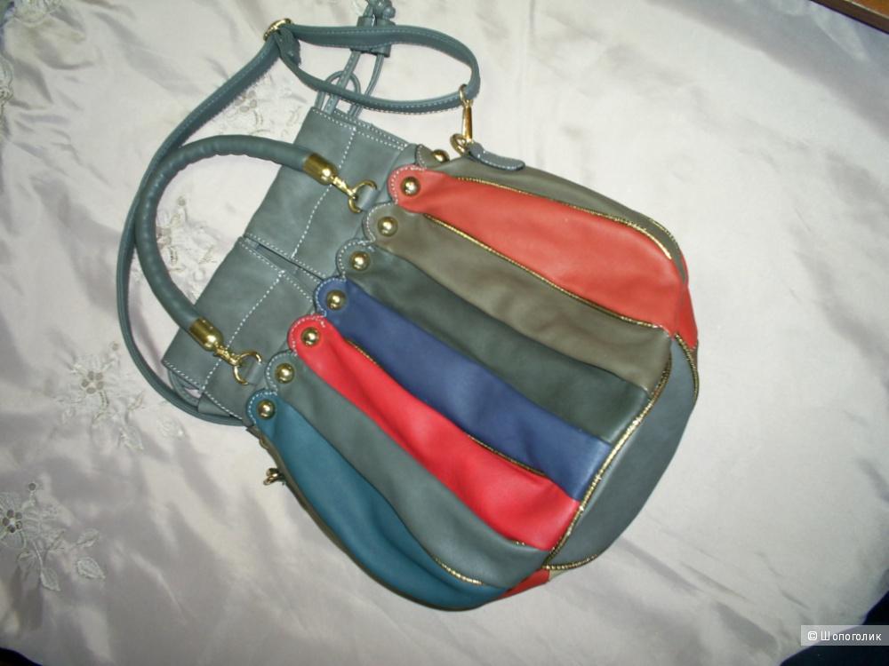 Разноцветная сумка-торба.