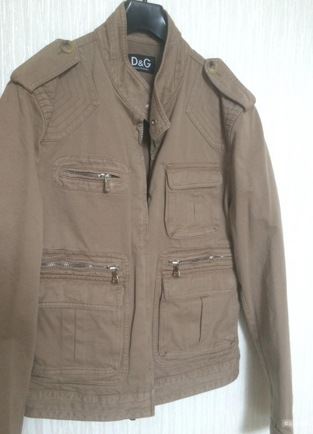 Новая куртка джинсовая Dolce Gabbana, размер L