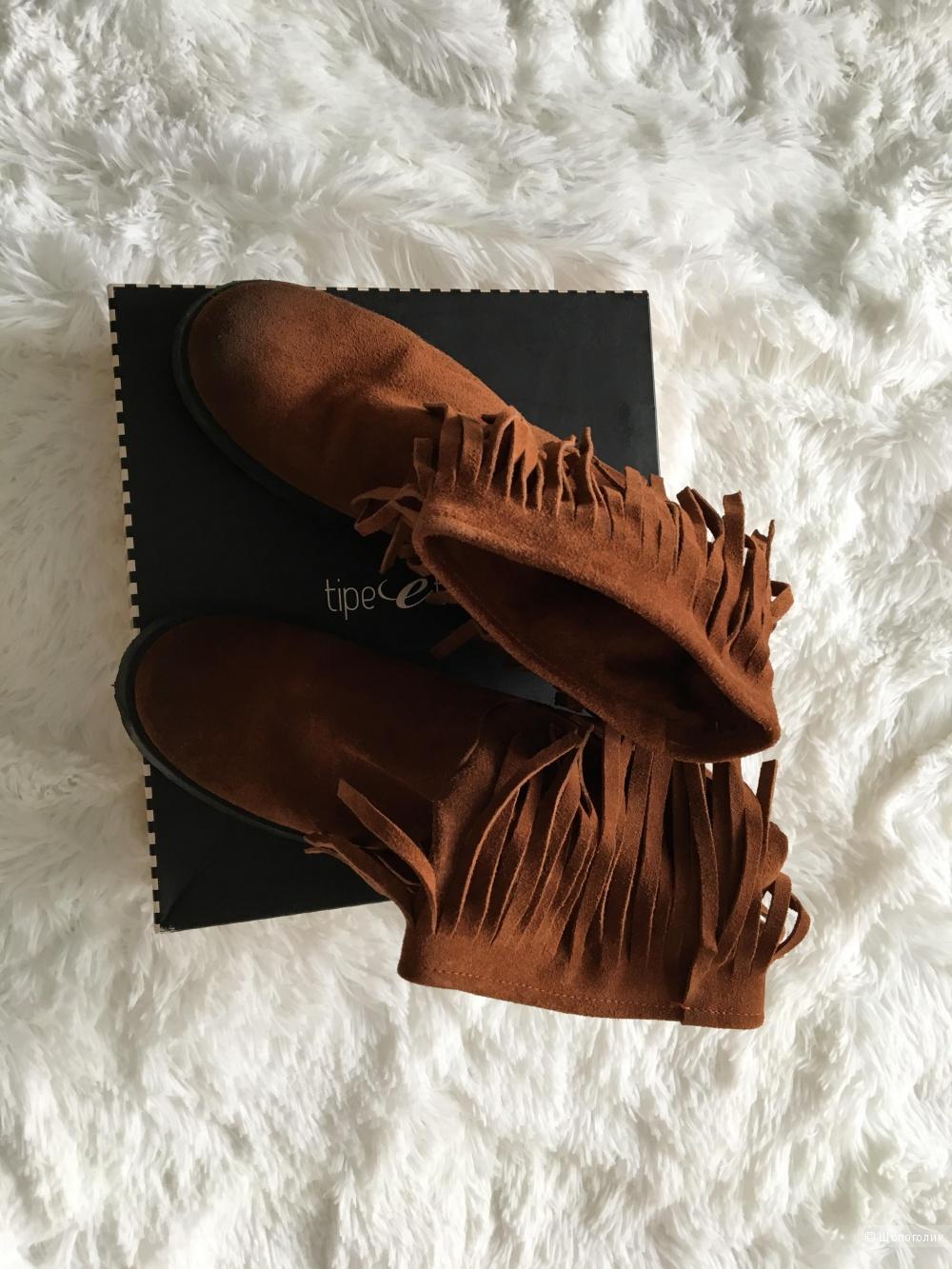 Ботинки Tipe E Tacchi, размер 39