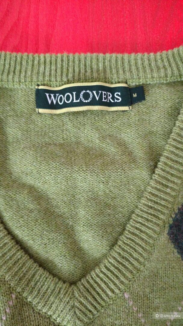 Мужской пуловер Woolovers размер М
