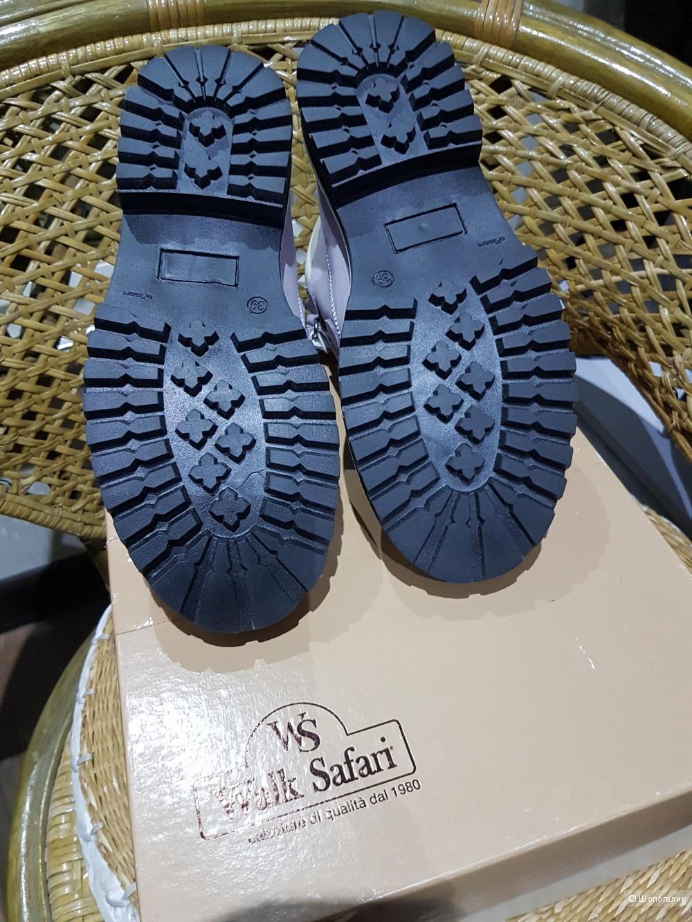 WALK SAFARI кожаные ботинки 39 размер