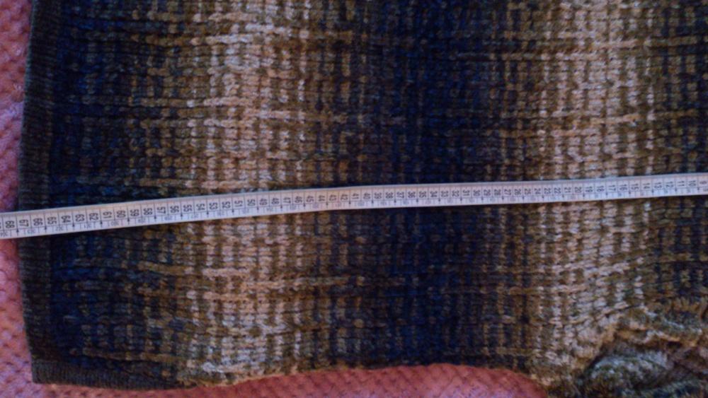 Кофта = свитер с переходом цвета ANCORA, размер 54-56, Польша