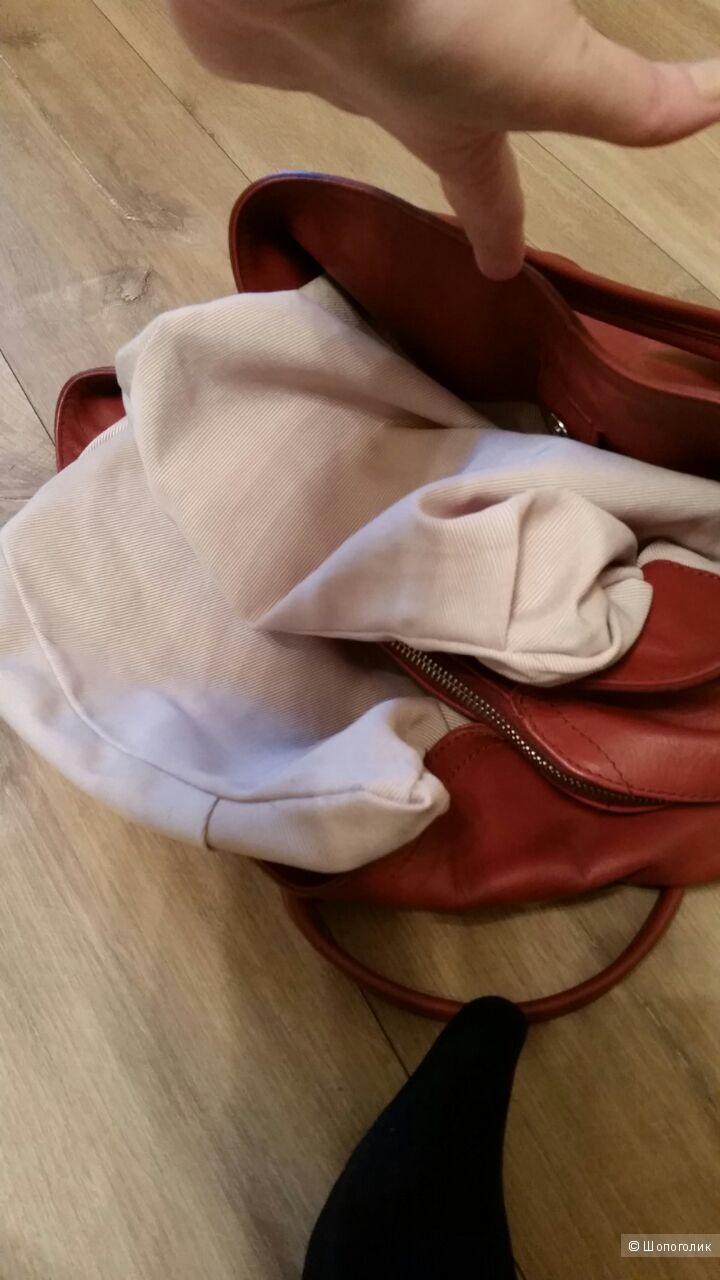 Кожаная сумка, Paolo Conte