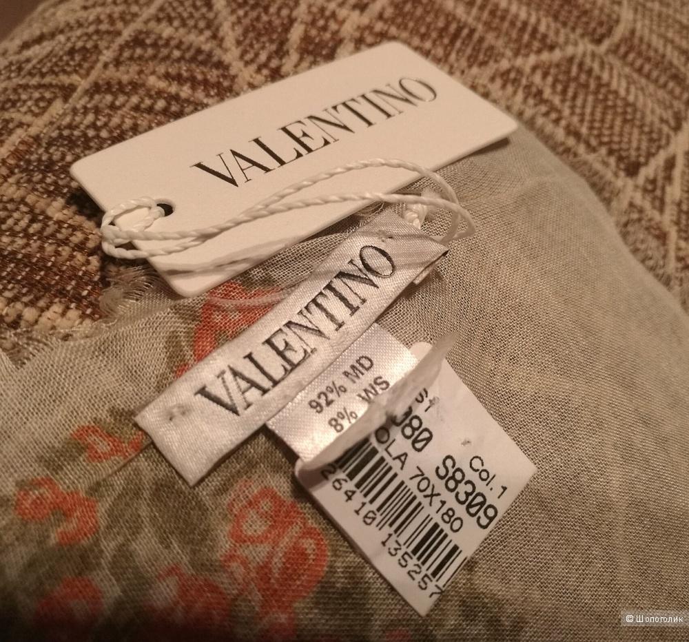 Новый палантин VALENTINO 70*180