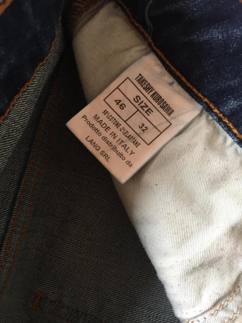 Дизайнерские джинсы Takeshy Kurosawa 44/46