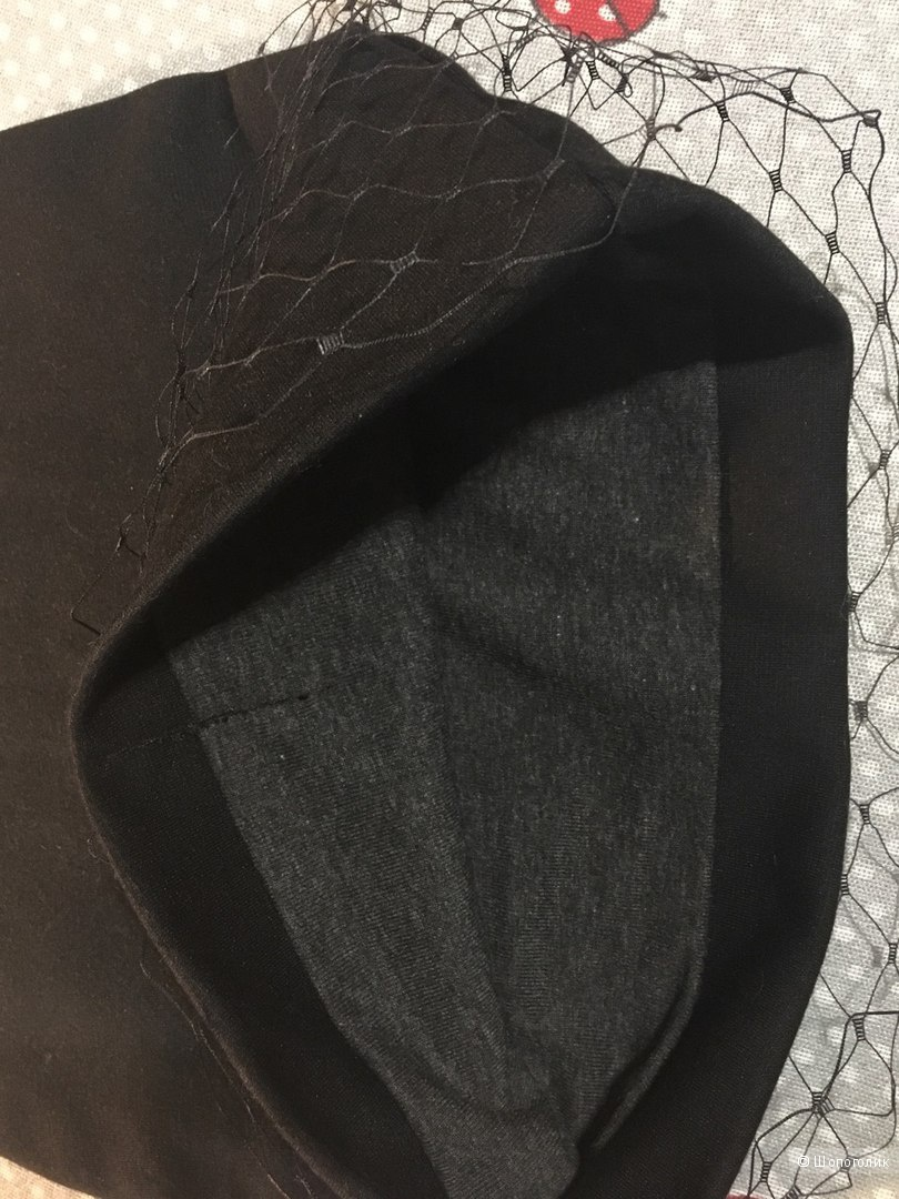 Стильная Шапочка с вуалью в стиле Jil Sander