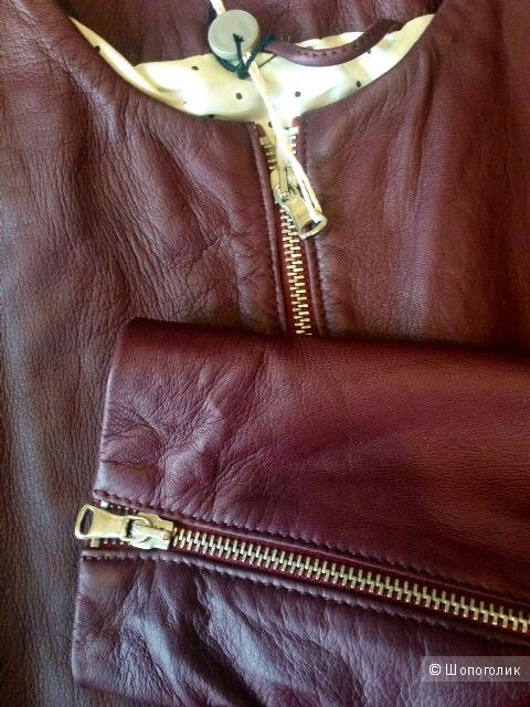 Кожаная куртка GQUADRO,46IT(44-46russ)