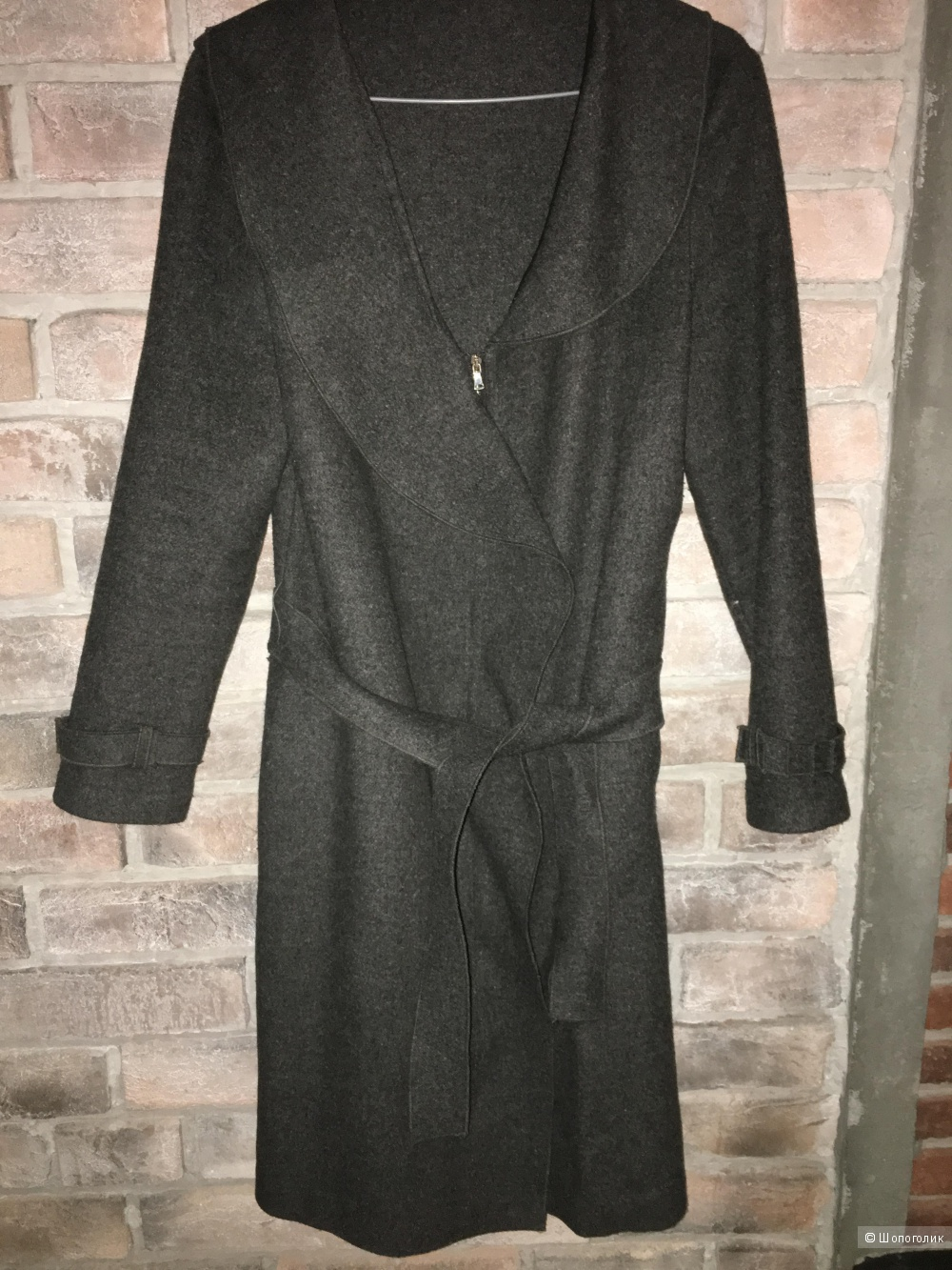 Пальто шерстяное , бренд ElieTahari, размер S