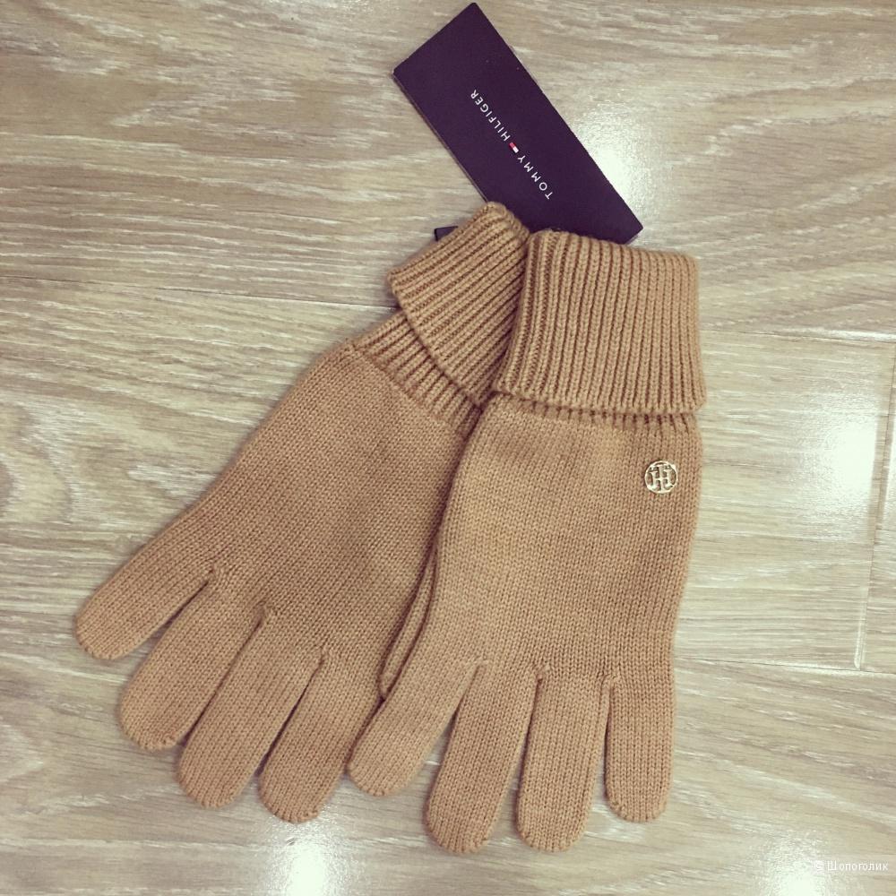 Новые перчатки Tommy Hilfiger размер М/L