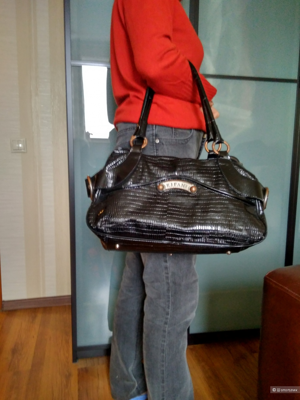 RIPANI кожаная сумка