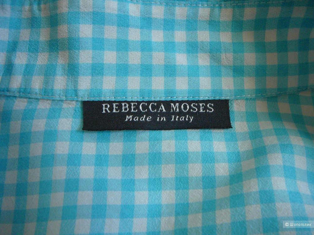 Блузка Rebecca Moses Italy 100% шелк (44RUS)
