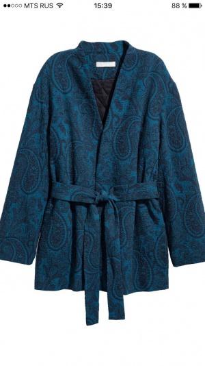 Пальто-кимоно H&M размер S