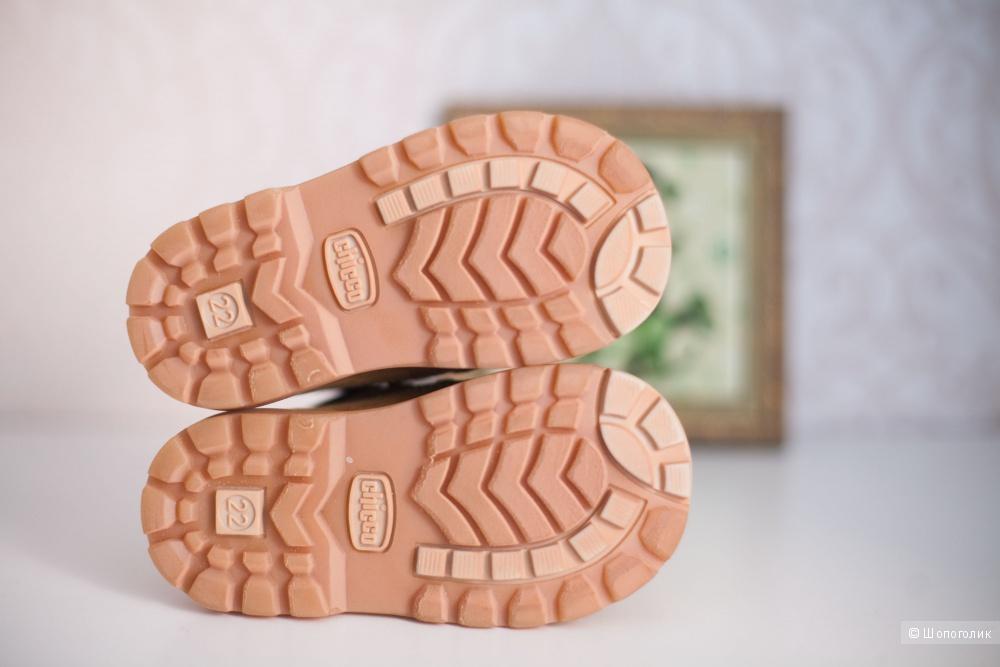 Новые демисезонные ботинки Chicco, 22-23 размер