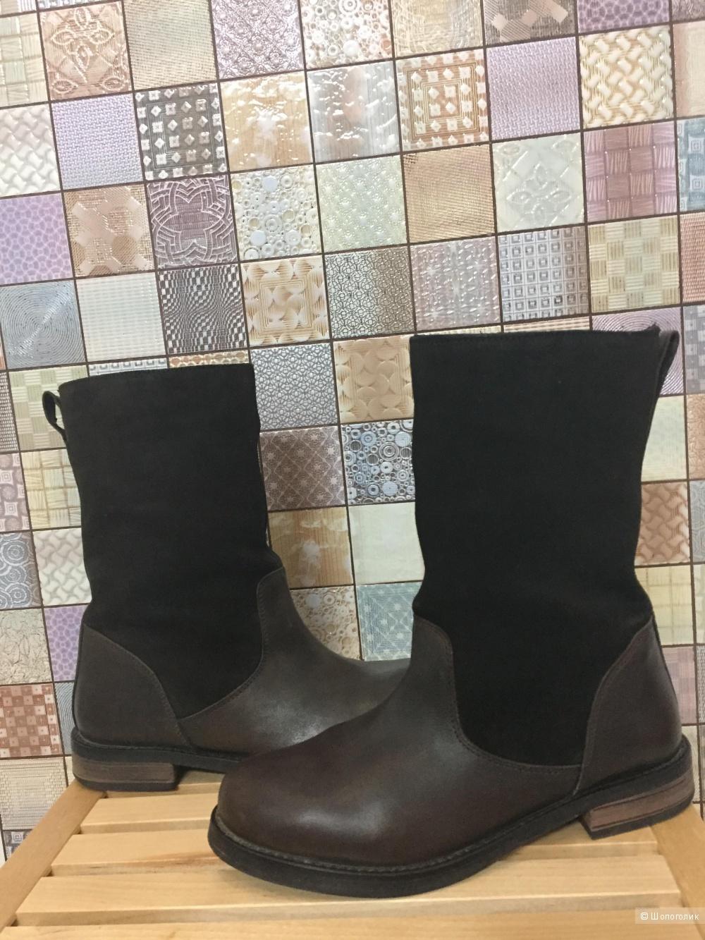 Кожаные ботинки ASOS CLAPTON,немного б/у,размер 5UK/37.5 RUS