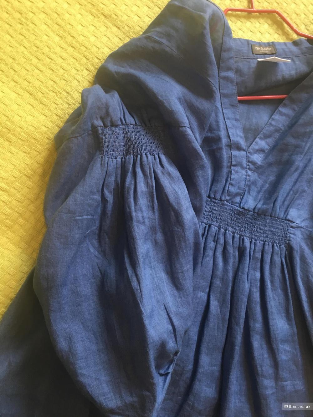 Льняная блуза Redoute creation,46раз