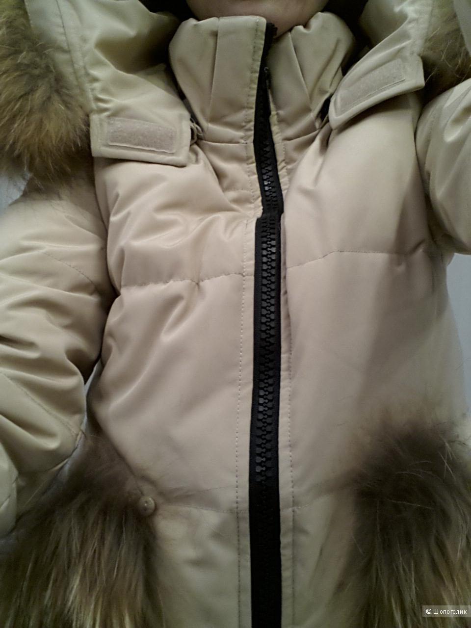 Пуховик-пальто, Канада,  XS, S