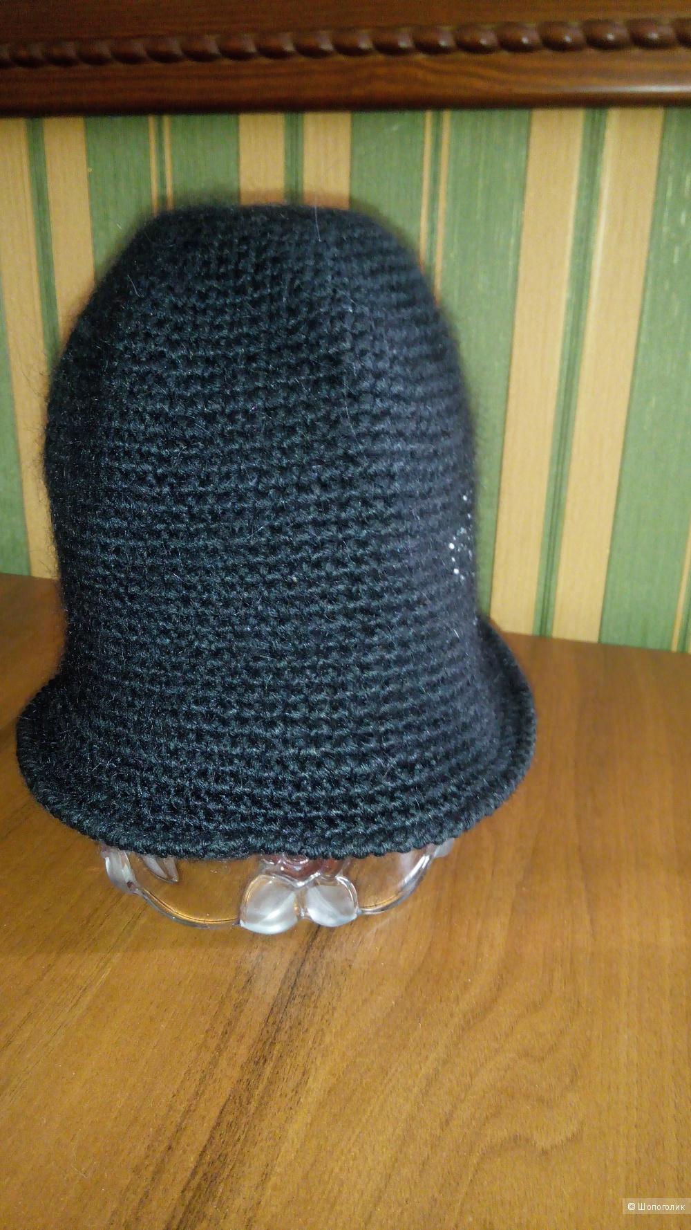 Шапка - шляпка,  шляпка- Клош, размер 54-58