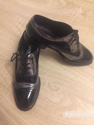 Туфли-Оксфорды размер 38.